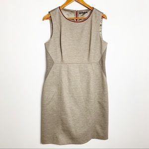 Elie Tahari wool blend sheath dress